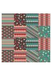 Papel De Parede Autocolante Rolo 0,58 X 3M - Azulejo Coração Bolinhas Estrela 285602975