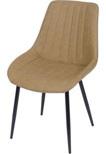 Cadeira Florenã§A- Caramelo & Preta- 84X50X42,5Cmor Design