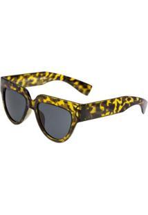 Óculos Ray Flector Buckingham Vgt563Co Feminino - Feminino-Amarelo+Preto
