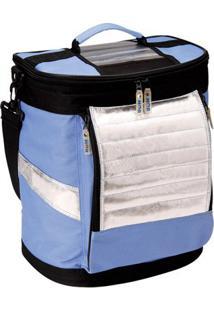 Cooler Mor 18 L - 1 Divisória Vertical - Unissex-Azul Claro