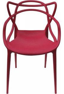 Cadeira Allegra Masters De Polipropileno Rivatti Cereja