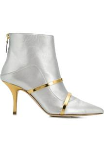 Malone Souliers Ankle Boot 'Madison' De Couro - Cinza