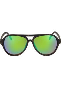 Óculos De Sol Nautica N3600Sp 342/58 Verde Fosco