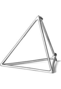 Shihara Brinco Único Triangle - Metálico