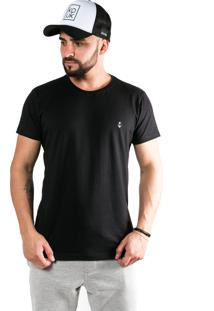 Camiseta Kouk Authentic Âncora Preta