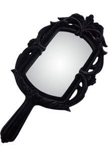 Espelho Baroque Black 44X22X2Cm Trevisan Concept