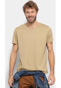 Camiseta Forum Básica Masculina - Masculino-Musgo