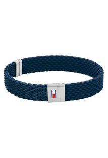 Pulseira Tommy Hilfiger Borracha Azul - 2790239S