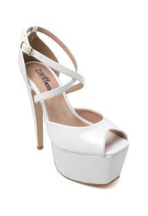 Sandália Zariff Shoes Meia Pata Verniz