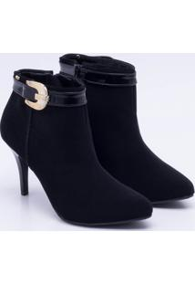Ankle Boot New Casual Nobuck - Feminino