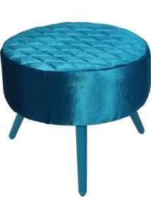 Puff Decorativo Angel Tresse Lymdecor Azul