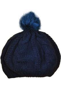 57e1fbd025e28 Gorro Ania Store Alpes - Feminino-Azul