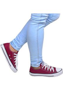 Tênis Feminino Casual Chuck Taylor All Star Bordô