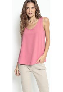 Blusa Com Pedrarias - Rosa & Pink - Lanã§A Perfumelanã§A Perfume