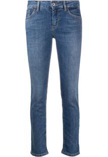 Liu Jo Calça Jeans Skinny Cintura Baixa - Azul