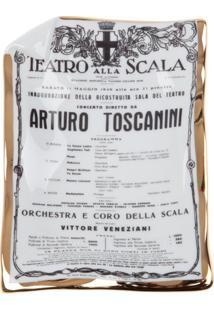 Fornasetti Cinzeiro 'Toscanini' Branco.