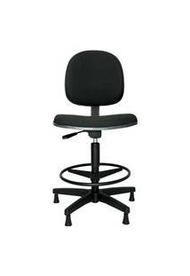 Cadeira Caixa Ergonômic A Prolabore. Linha Spin. Tecido. Nr17. Mecanismo V/H. Alta Com Aro Ajustável. Sapatas. Prolabore Produtos Ergonômicos