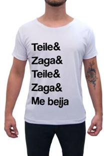 Camiseta Impermanence Estampada Teile & Zaga Masculina - Masculino
