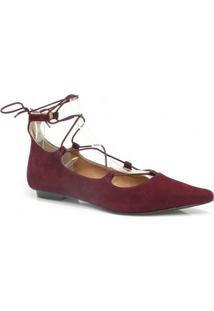 Sapatilha Zariff Shoes 1484-7876 - Feminino-Bordô