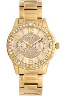 Relógio Guess 92591Lpgsda1 Dourado