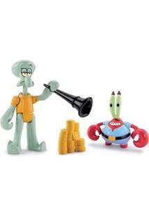 Imaginext Mattel Figuras Básicas Seu Sirigueijo E Lula Molusco