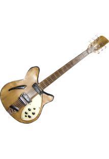 Painel Decorativo Metal Unika Guitarra Lps Colorido