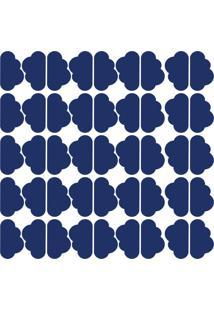 Adesivo De Parede Nuvens Azul Royal 45Un