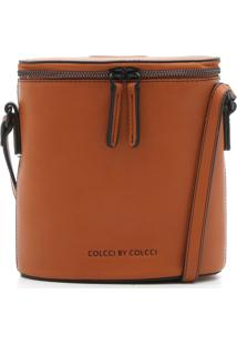 Bolsa Colcci Logo Marrom