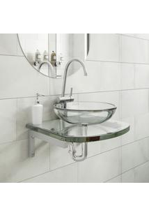 Gabinete Para Banheiro Astra Gp-K Kennedy 40Cm Vidro