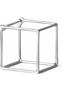 Shihara Par De Brincos 'Square 15' - Metálico