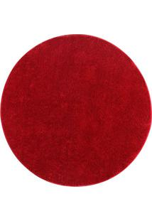 Tapete Classic- Vermelho- Ø100Cm- Oasisoasis