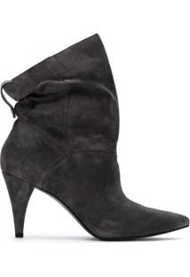 Michael Michael Kors Ankle Boot 'Carey' - Cinza