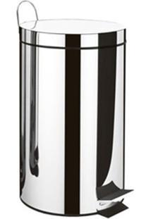 Lixeira Com Pedal 3L Standard Inox Brinox