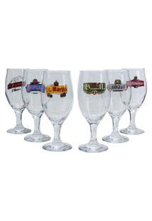 Jogo De Taças Para Cerveja Premium Windsor 6 Peças
