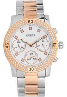 Relógio Guess 92595Lpgsga6 Prata/Rosê