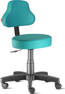 Cadeira Mocho Esmeralda Plus Giratória