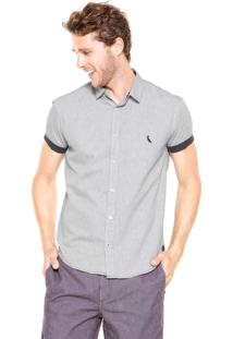Camisa Reserva Detalhes Cinza
