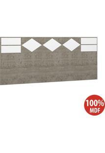 Cabeceira Casal 100% Mdf 22981 Demolição/Branco - Foscarini