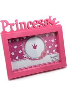 Porta Retrato Princesa 15Cm X 10Cm L3 Store - Rosa - Kanui