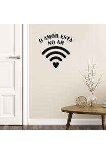 Adesivo De Parede Wifi Do Amor
