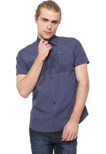 Camisa Hurley Reta Paradise Azul-Marinho