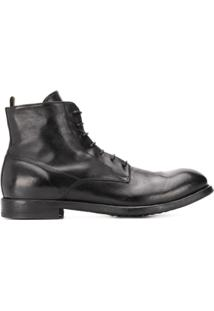 Officine Creative Arbus 06 Lace-Up Ankle Boots - Preto