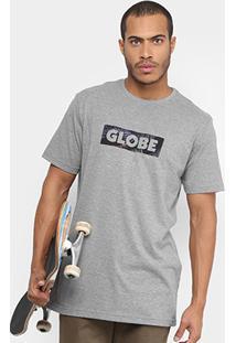 Camiseta Globe Feather Box Masculina - Masculino