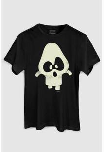 Camiseta Bandup Turma Da Mônica Penadinho - Masculino-Preto