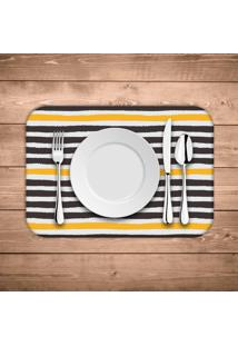 Jogo Americano Wevans Abstrato Stripes