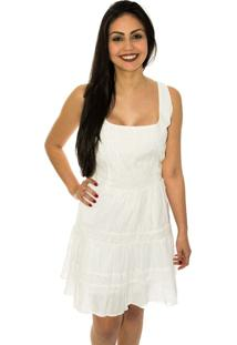 Vestido Capim Canela Laise Passamaria Branco