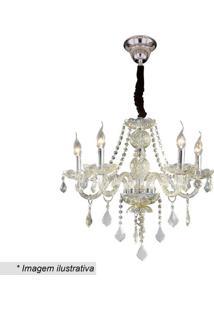 Lustre Maria Thereza- Inox & Cristal- 25X46X49Cmhevvy