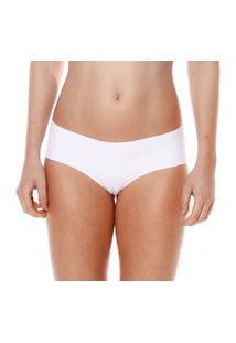 Calcinha Boneca Sem Costura Branco Make - 406.023 Marcyn Lingerie Boneca Branco