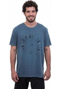 Camiseta Limits Laundry Go Trip Out Masculina - Masculino-Marinho