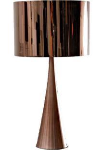 Abajur Acet 66Cm Bronze Bella Iluminação Bivolt
